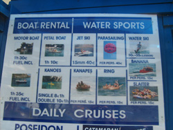 Pricelist for Boots in Bali