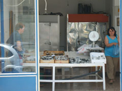 Fishshop in Kissamos Crete