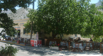 Taverna in Imbros Village