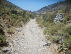 Path to Imbros Gorge
