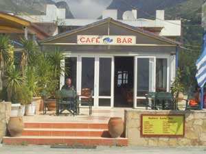 Joes Bar in Plakias