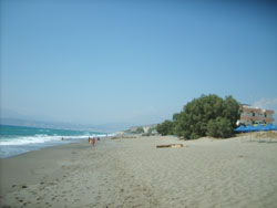 Beach in Kalamaki