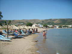 Mavro Molos in Kissamos (Dark Beach)