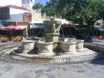 Morozini Fountain in Iraklio Crete