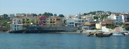 Panormo on Crete