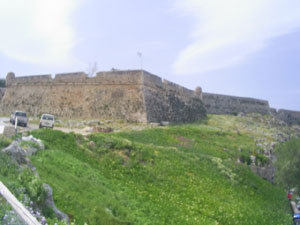 The Fortezaa (Fort) of Rethymno