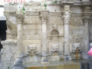 The famous Fountain of Rethymno