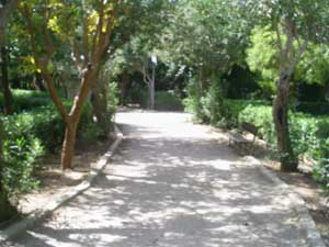 The City Park of Rethymno