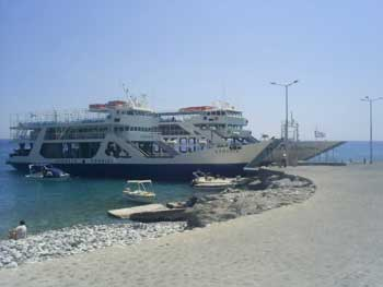 Ferry from Chora Sfakia to the Samaria Gorge